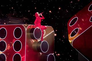 Katy Perry 'Witness The Tour' concert in San Antonio