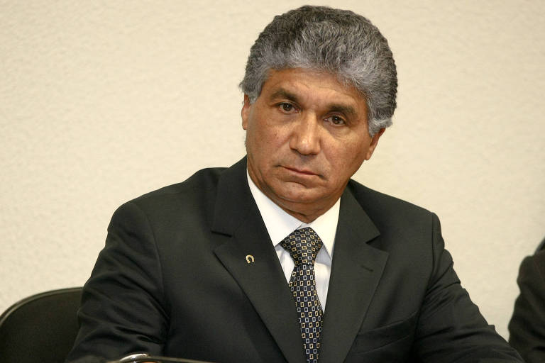 O engenheiro Paulo Vieira de Souza, conhecido como Paulo Preto, ex-diretor da Dersa, em sessão de CPI