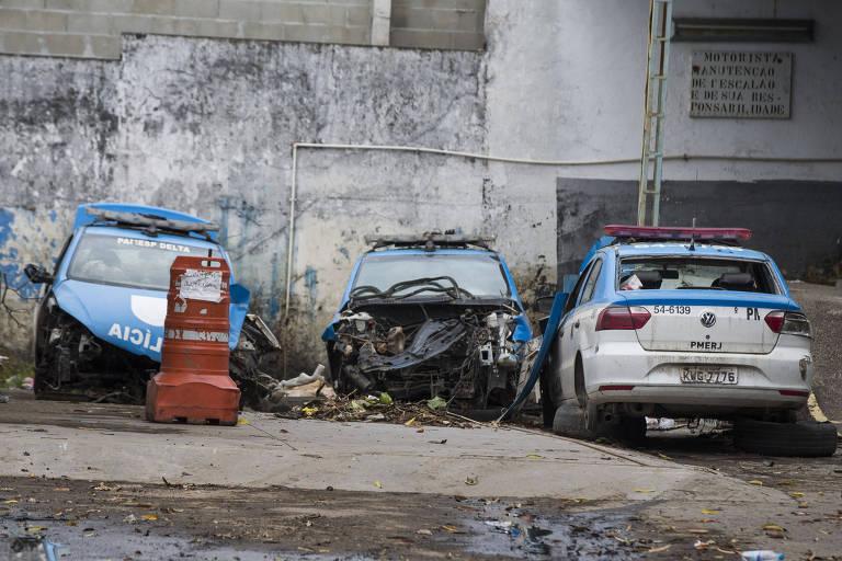 Polícia do Rio tem estrutura deficiente
