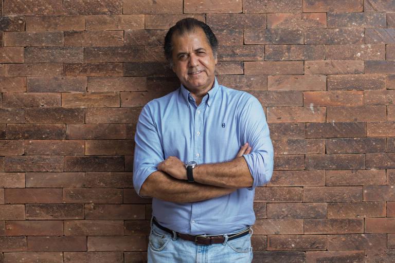 O empresário Omar Peres, que relançará o 'Jornal do Brasil'