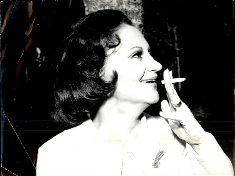A atriz Laura Cardoso em foto de 1978