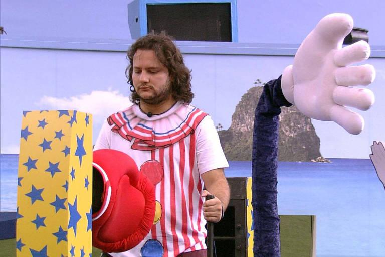 Diego vence a prova do anjo