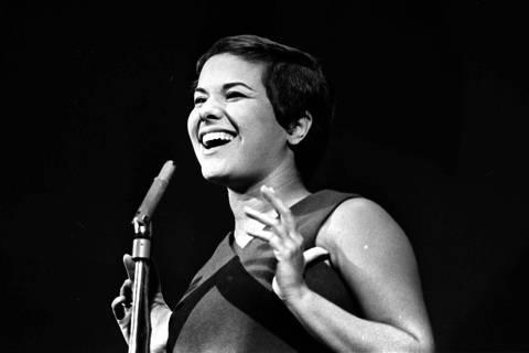 A cantora Elis Regina. (16.05.1967 Foto do Acervo UH/Folhapress)