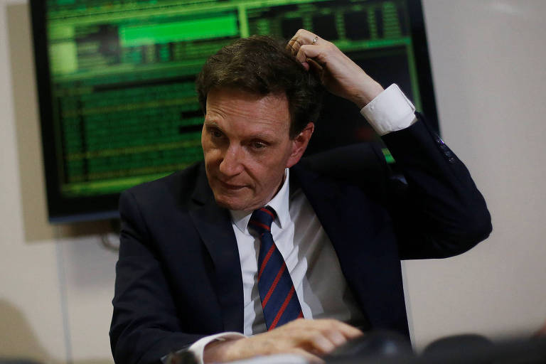 O prefeito do Rio de Janeiro, Marcelo Crivella, do PRB