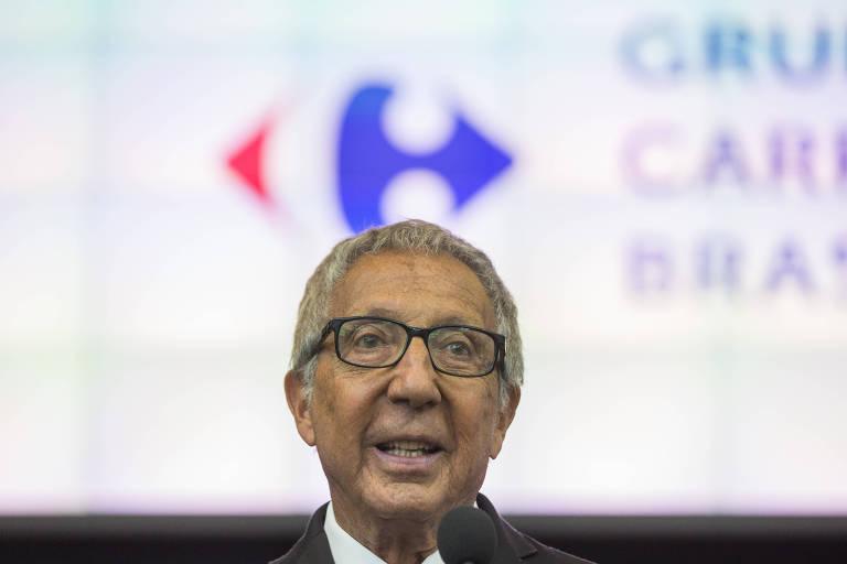 O empresário Abílio Diniz, presidente do conselho da BRF e acionista do Carrefour