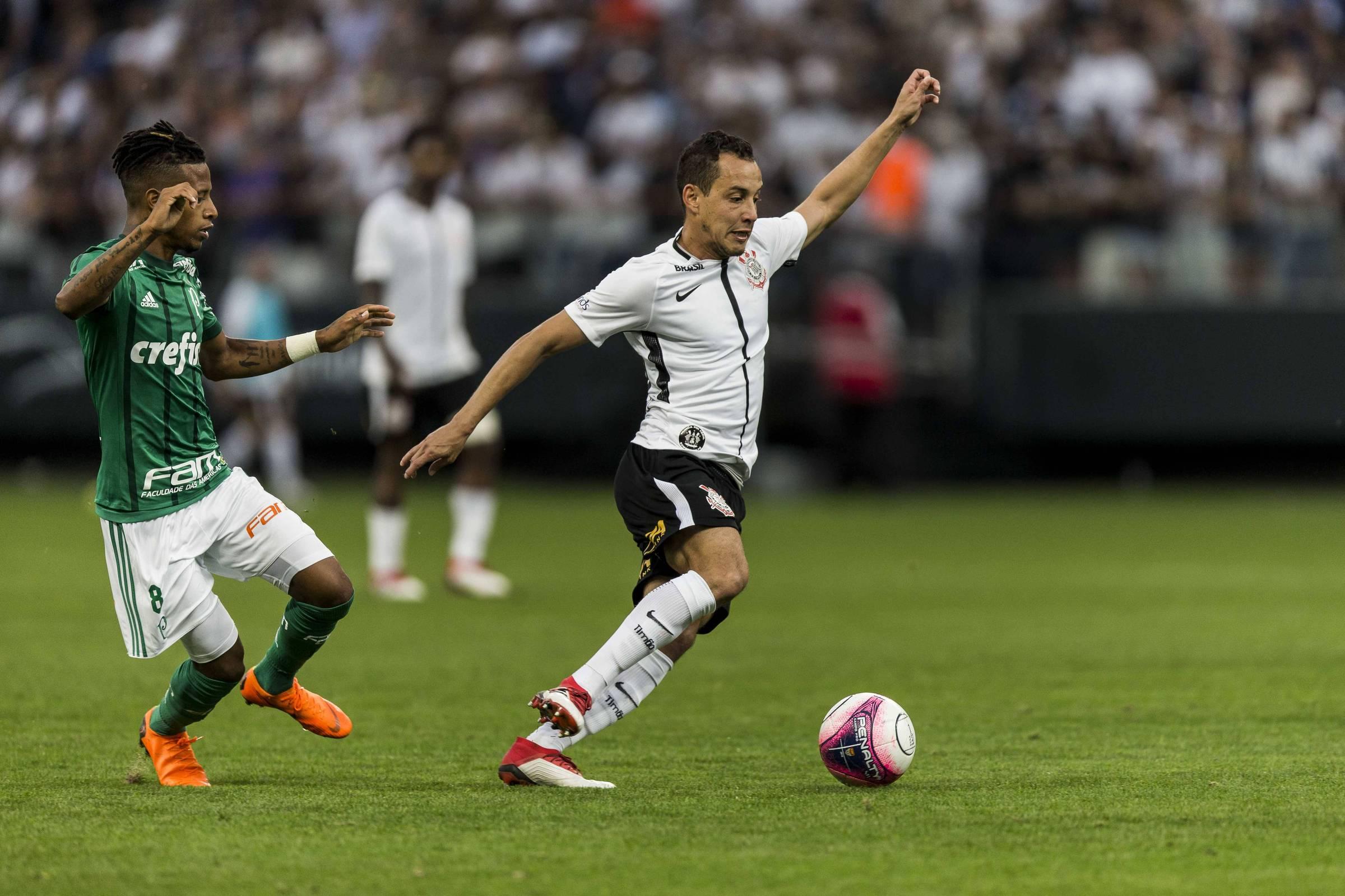Corinthians e Palmeiras decidem título com planejamentos distintos -  31 03 2018 - Esporte - Folha fef15ebf1497d