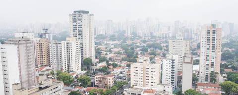 São Paulo, SP, Brasil, 09-11-2017: Vista do alto de uma das torres do empreendimento Quartier Auri, na Vila Olimpia. (Foto: Alberto Rocha/Folhapress) **ESP MORAR**