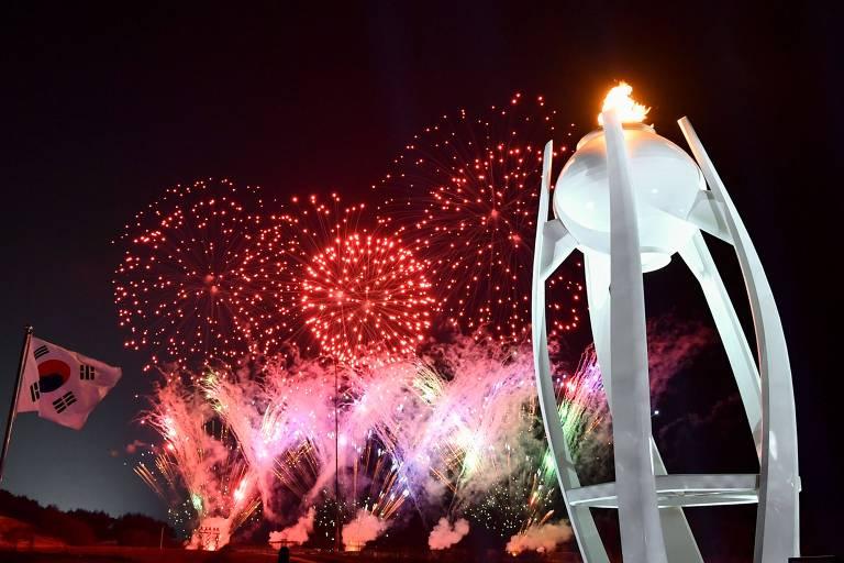Cerimônia de encerramento das Olimpíadas de Inverno 2018
