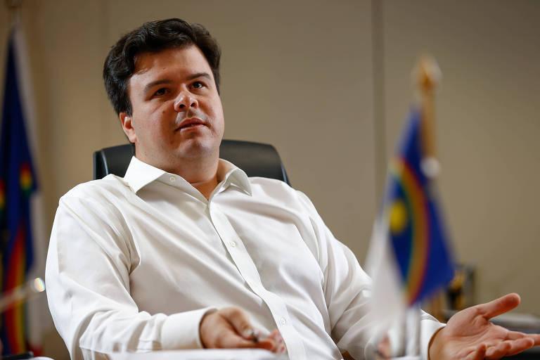 O ministro de Minas e Energia, Fernando Coelho Filho