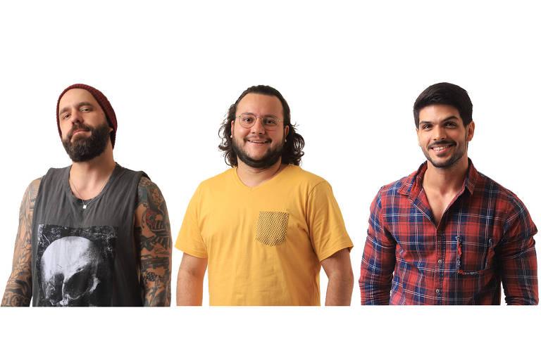 Caruso, Diego ou Lucas, quem deve ser eliminado nesta terça (27)