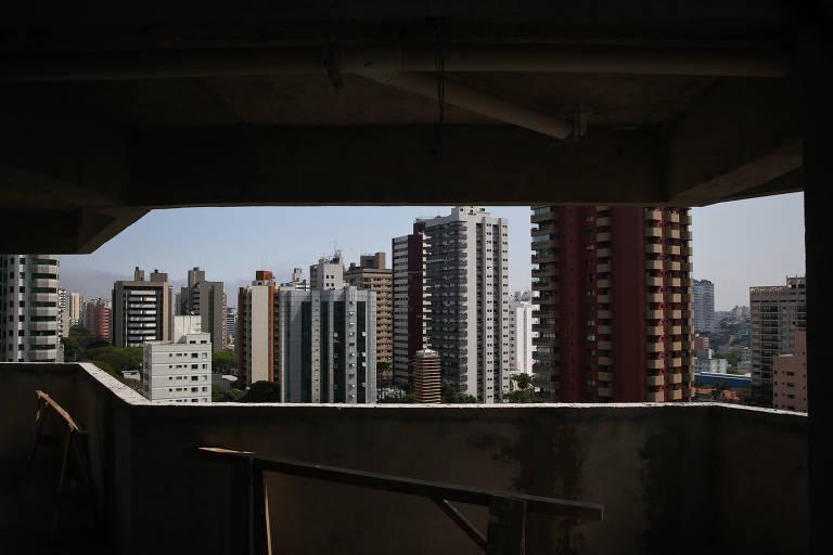 Vista de edifícios em São Bernardo do Campo