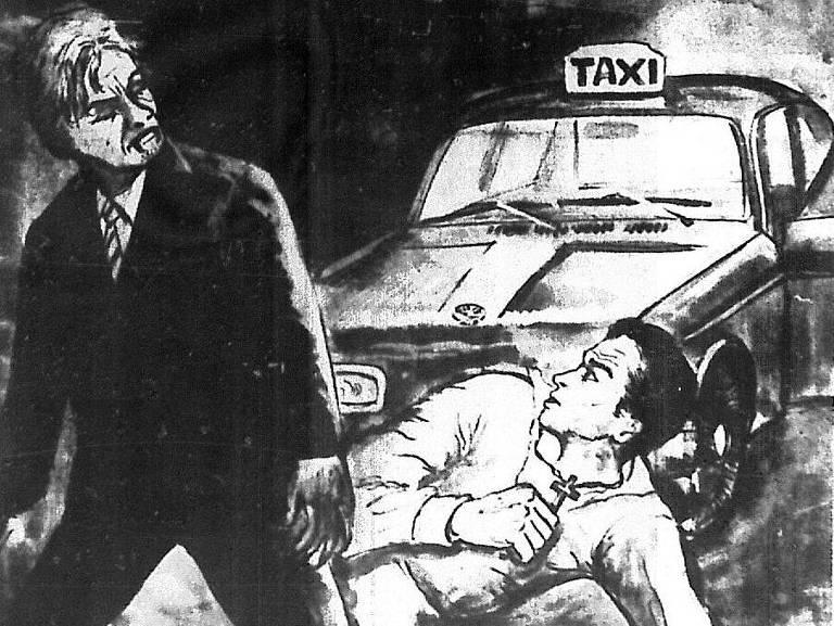 """Ilustração publicada jornal """"Notícias Populares"""" de 26 de fevereiro de 1973"""