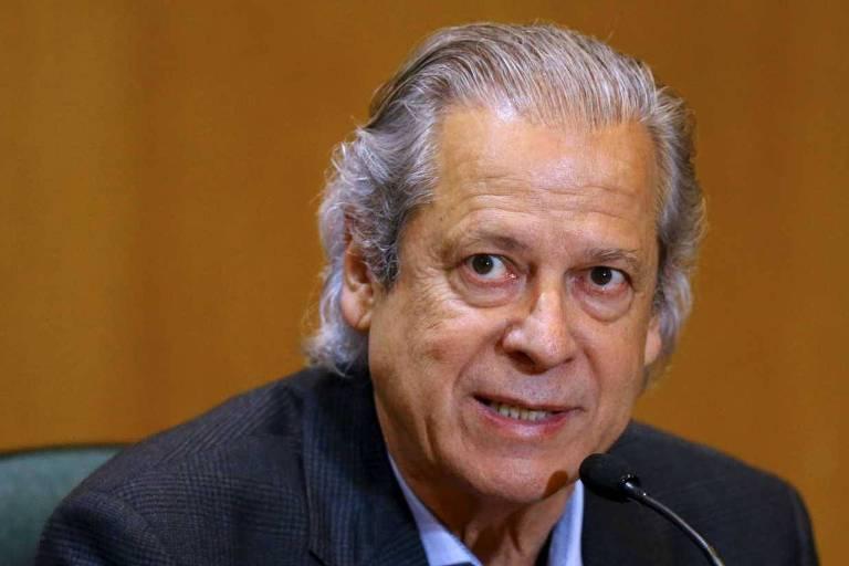 Dirceu duvida de candidatura Lula e criticaviés eleitoreiro de comando petista