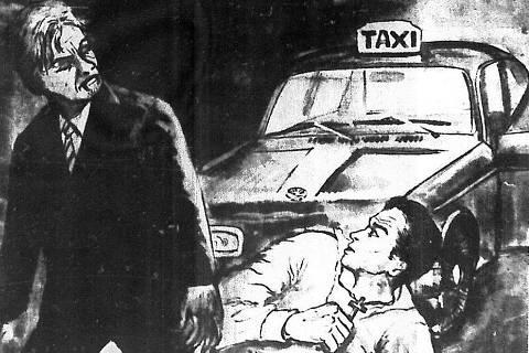 Ilustração publicada no jornal