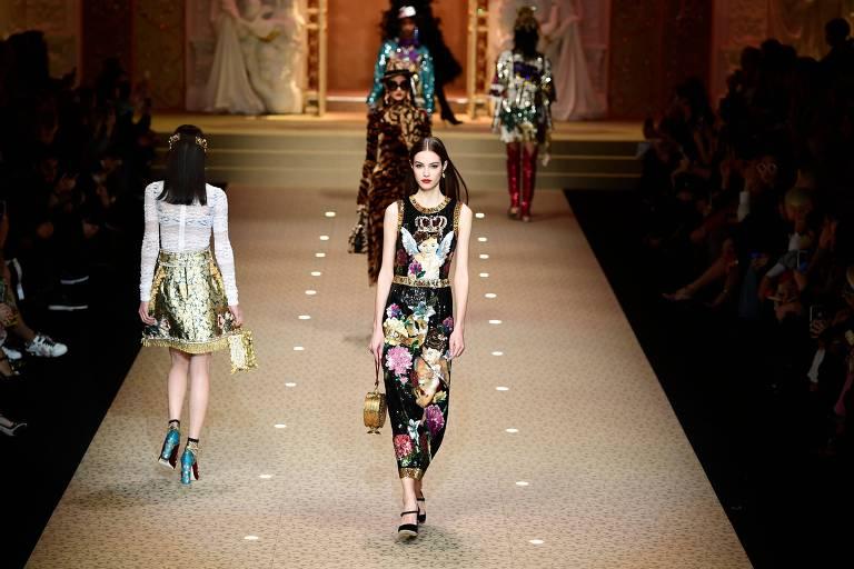 Dolce & Gabbana em Milão