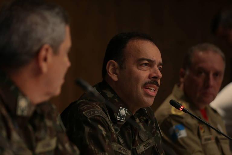 Novo secretário de Segurança do Rio, Richard Fernandez Nunes
