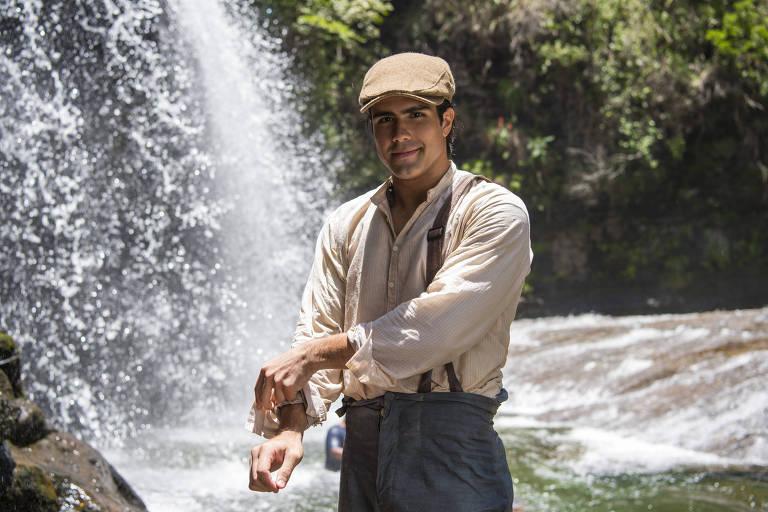 Juliano Laham em cena de 'Orgulho e Paixão' (Globo)