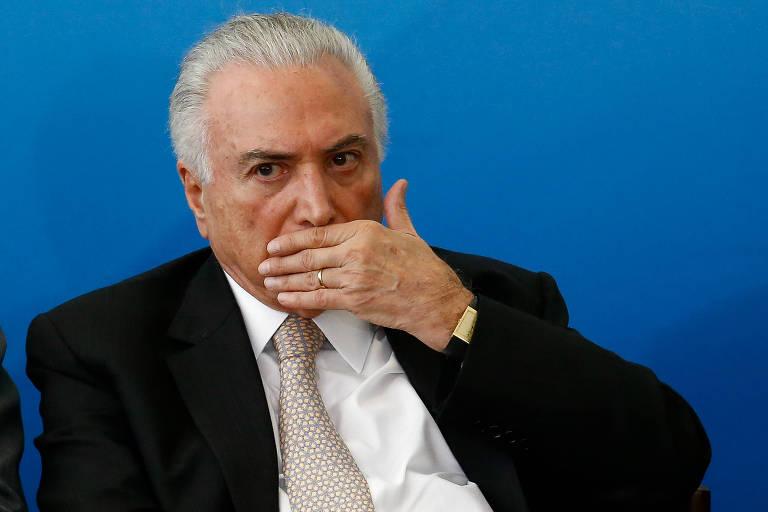 O presidente Michel Temer participa de cerimônia em Brasília