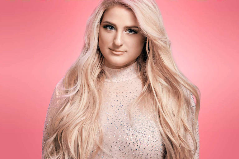 "Meghan Trainor na capa do single ""No Excuses"""