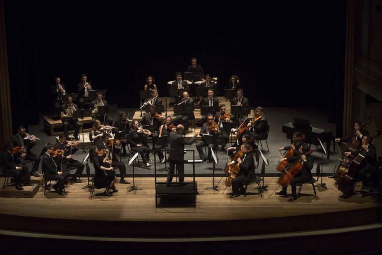 A Orquestra do Theatro São Pedro abre a temporada 2018 com dois concertos sinfônicos gratuitos