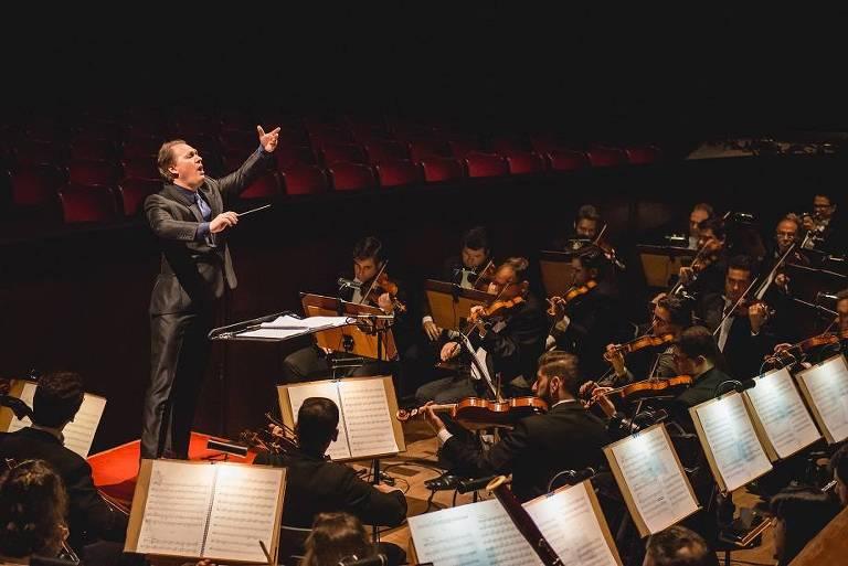 A Orquestra Sinfônica  Municipal de São Paulo abre a temporada 2018 nesta sexta (2) e no sábado (3)