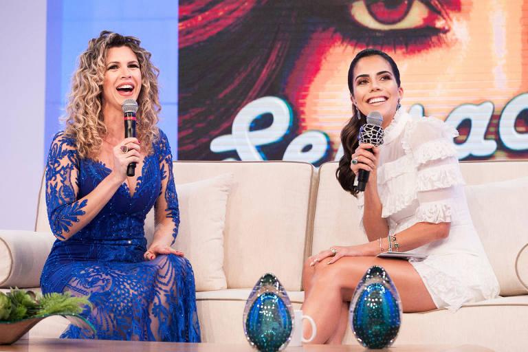 """Cida Marques participa do programa """"Sensacional"""", apresentado por Daniela Albuquerque na RedeTV!"""