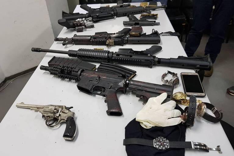 Dez assaltantes morrem no Morumbi