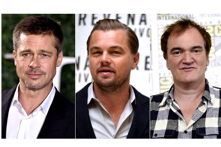 Brad Pitt e Leonardo DiCaprio serão os protagonistas do longa de Quentin Tarantino