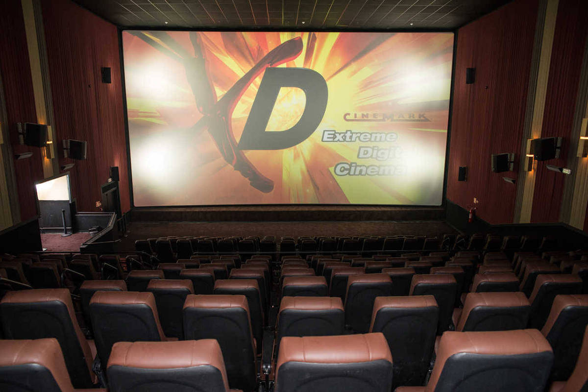 Eleitas Por Melhor Proje O Salas Xd Da Cinemark T M Telas At 40  -> Imagem De Sala De Cinema