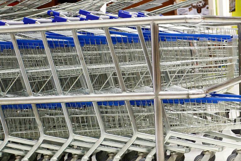 Carrinhos de supermercados