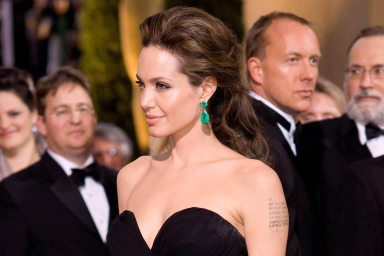 Angelina Jolie no Oscar de 2009