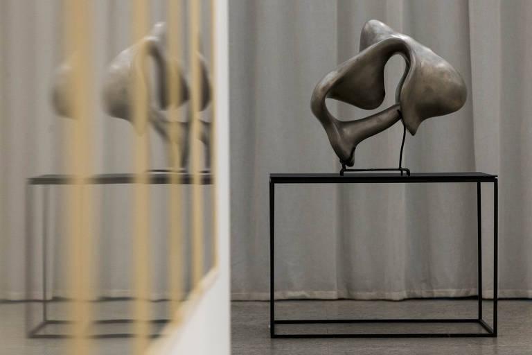 Obra da exposição de Tunga, no Masp