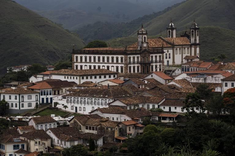 A cidade de Ouro Preto foi o inicio da viagem pelo Caminho dos Diamantes
