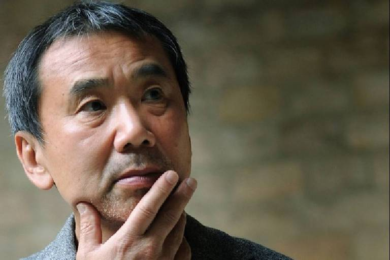 O escritor japonês Haruki Murakami