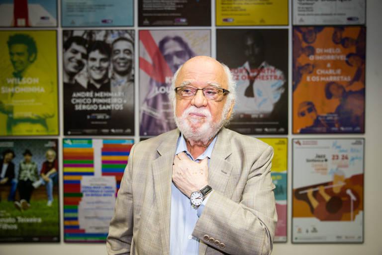 O diretor do Sesc-SP, Danilo Miranda
