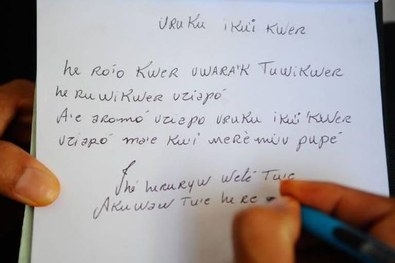O registro escrito é um dos fatores avaliados para definir se uma língua está em perigo