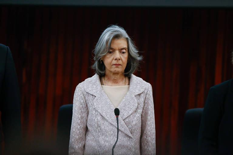 A presidente do STF, ministra Cármem Lucia