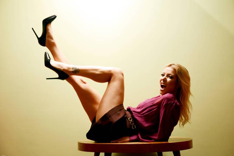 A cantora Luiza Possi; clique para ver mais fotos