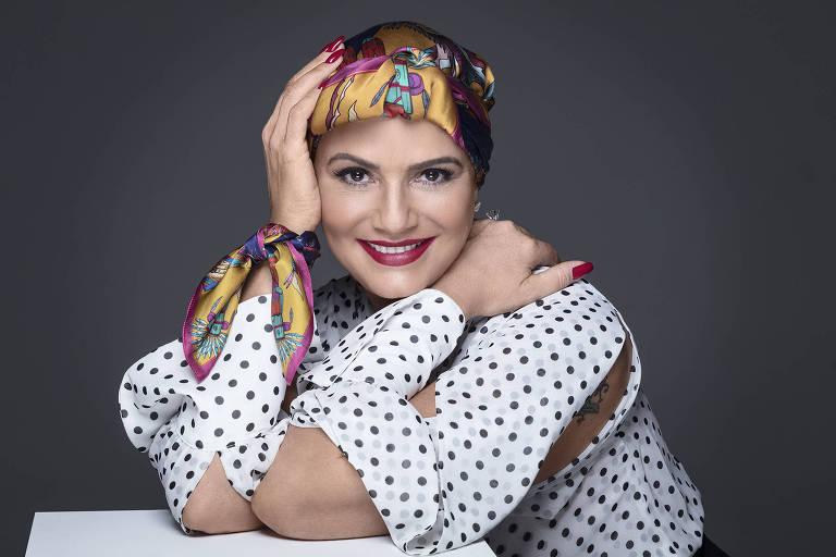 A ex-modelo Luiza Brunet