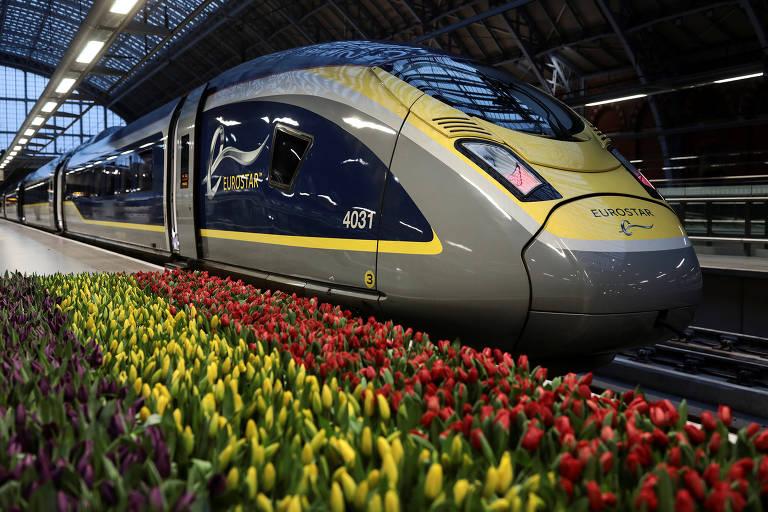Londres a Amsterdã de trem