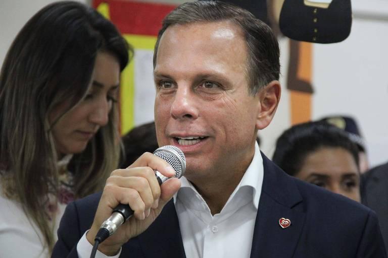O prefeito João Doria inaugura o Centro de Educação Infantil (CEI Cidade Líder), na Travessa Jacinto Ferreira, bairro de Itaquera, zona leste de São Paulo (SP)