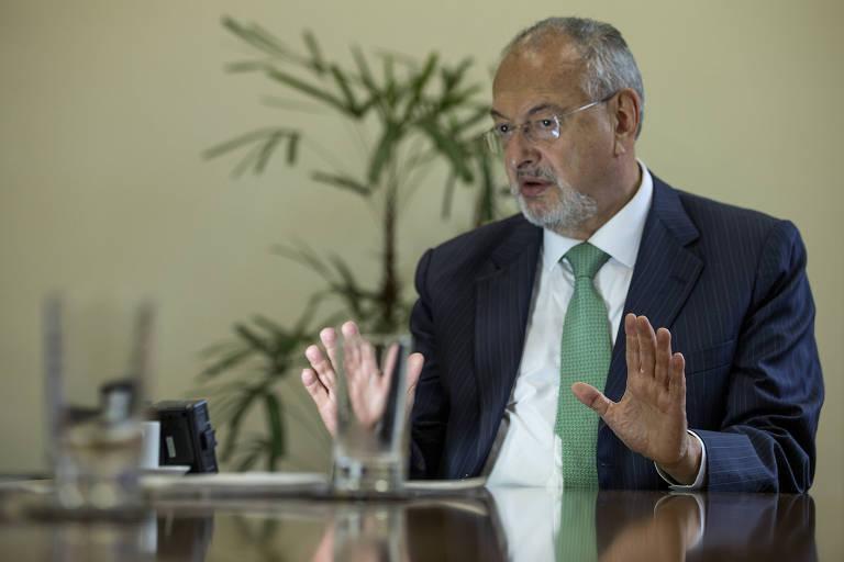 O secretário estadual da Educação, José Renato Nalini
