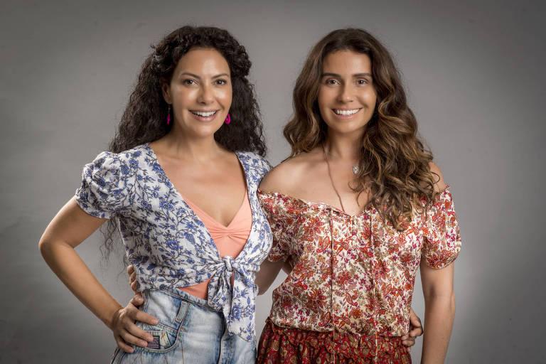 Luzia ( Giovanna Antonelli ) e Cacau ( Fabiula Nascimento ) em 'Segundo Sol'