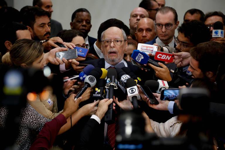 Sepulveda Pertence, advogado de Lula
