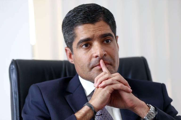 O prefeito de Salvador, ACM Neto (DEM), durante entrevista exclusiva no gabinete da prefeitura em Brasília