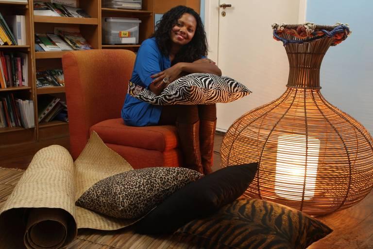 Adriana Barbosa, criadora da Feira Preta, uma das participantes do simp�sio