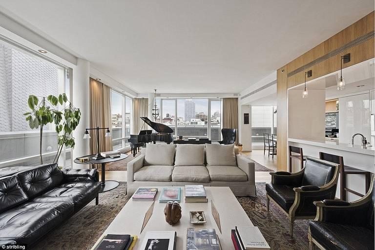 Antigo apartamento de Jessica Biel e Justin Timberlake em Nova York