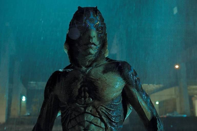 Criatura do filme 'A Forma da Água'