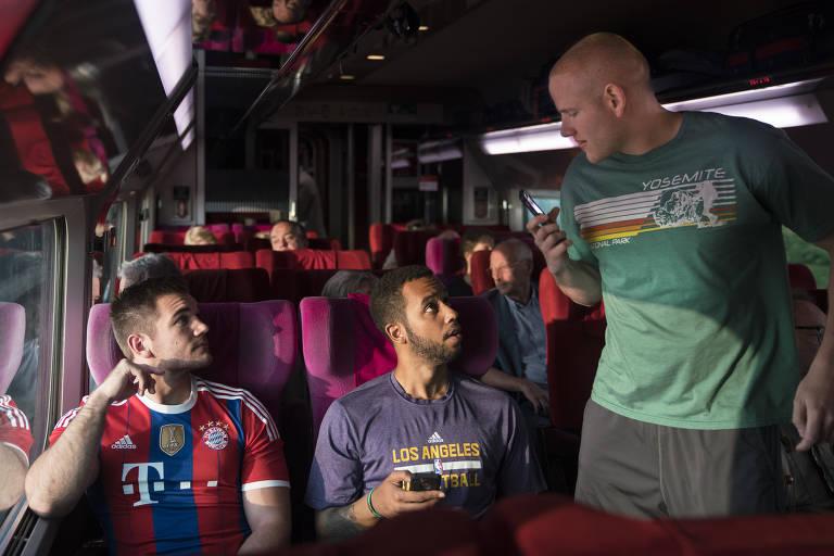 '15h17 - Trem para Paris'