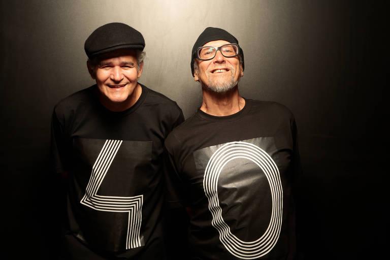 O Duofel, formado por Luiz Bueno e Fernando Melo, celebra 40 anos